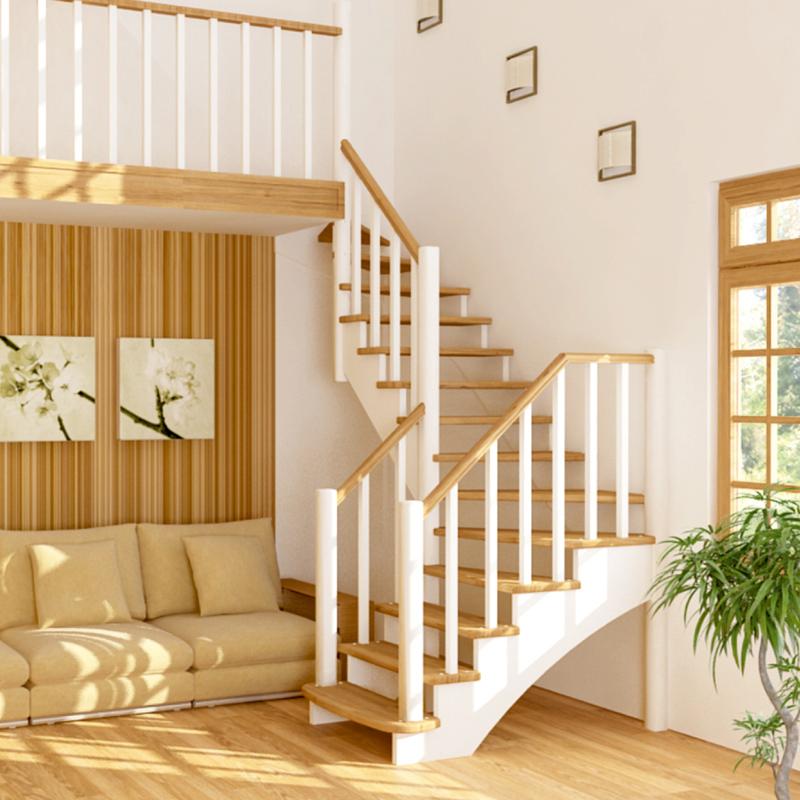 лестницы межэтажные деревянные картинки