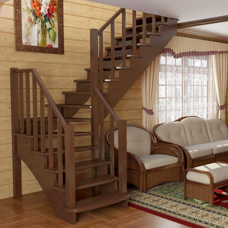 межэтажная лестница для частного дома фото компания выпускала