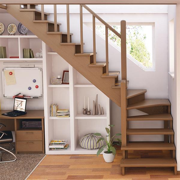 какую лестницу делают на второй этаж фото